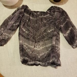 CACHE' Split sleeve blouse